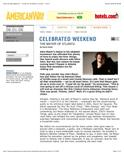John Mayer Celebrated Weekend, American Way, June 1, 2006 copy